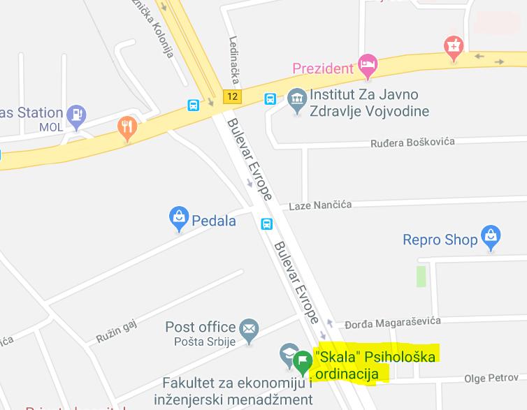 Adresa: Cvećarska 1a